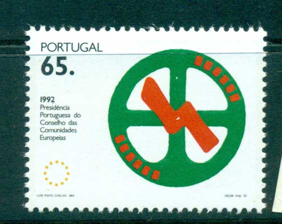 Portugal 1992 Council of Ministers MUH lot58730