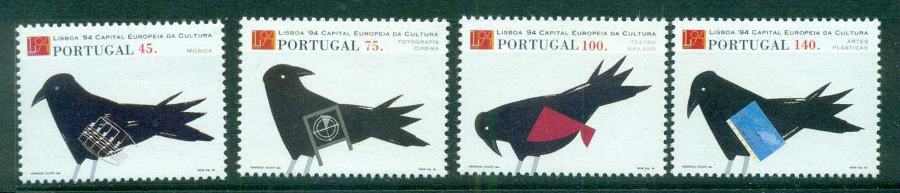 Portugal 1994 Lisbon '94, Birds MUH lot58731