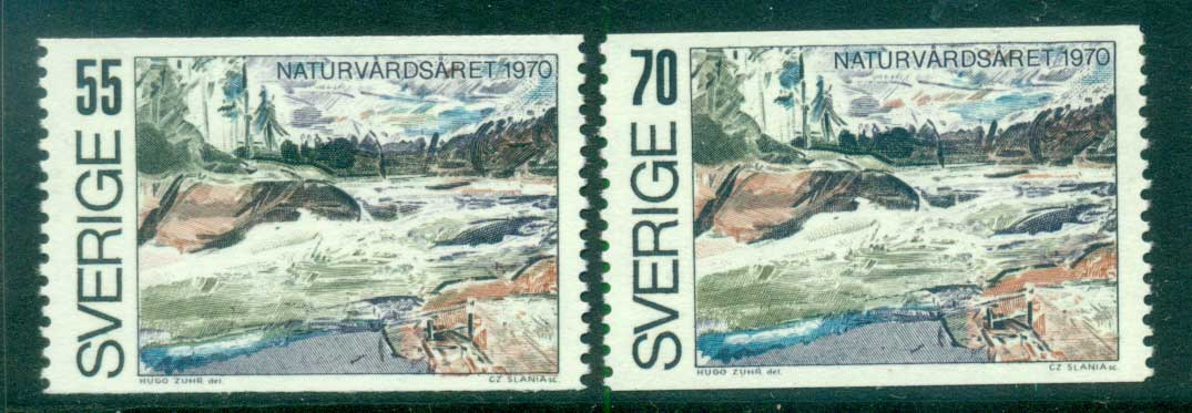 Sweden 1970 Nature Conservation MUH lot58769