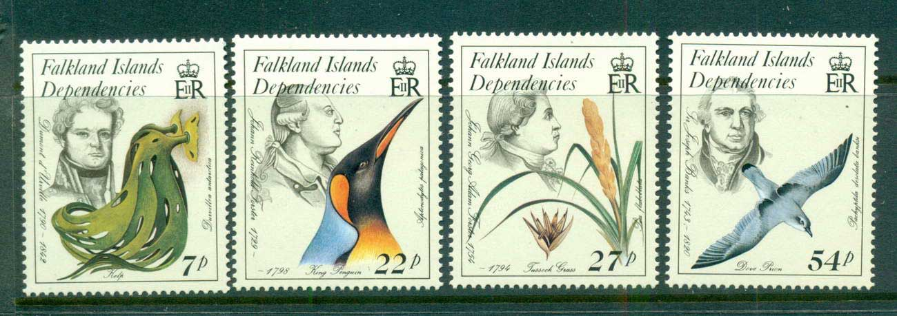 Falkland Is Deps 1985 Naturalists MUH lot58863