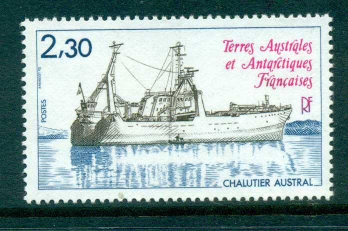 French Antarctic Territory 1983 Trawler Austral MUH lot58894