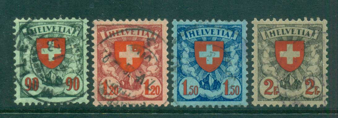 Switzerland 1924 Arms FU lot59051