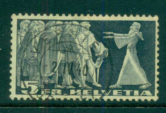 Switzerland 1938 5fr Diet of Stans FU lot59053