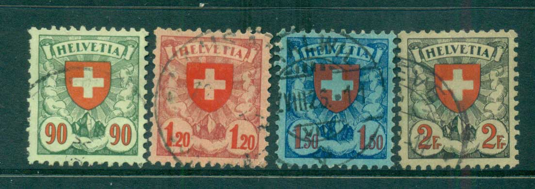 Switzerland 1933 Arms, grilled FU lot59066