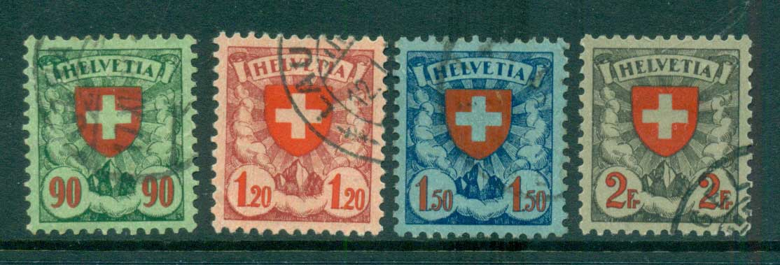 Switzerland 1933 Arms FU lot59072