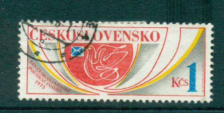 Czechoslovakia 1975 Stamp day CTO lot59358
