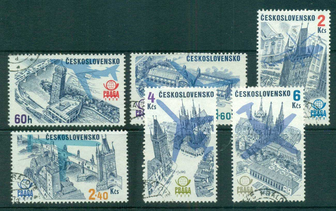 Czechoslovakia 1976 PRAGA '78 Stamp Ex. CTO lot59373