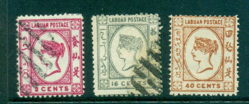 Labuan 1894 on Assorted Oddments MH/CTO/ FU lot59509