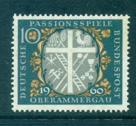 Germany 1960 Passion Play Oberammagau MUH lot59765
