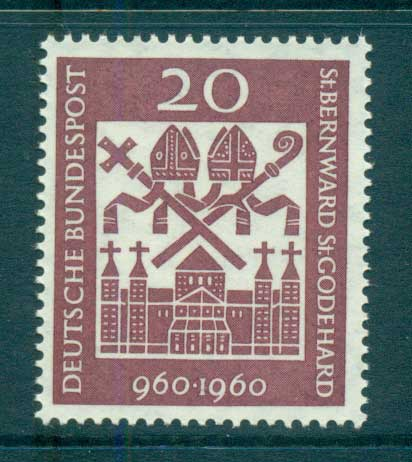 Germany 1960 Hildesheim Cathederal MUH lot59771