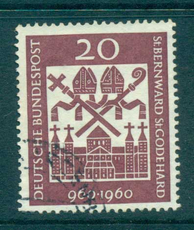 Germany 1960 Hildesheim Cathederal FU lot59772