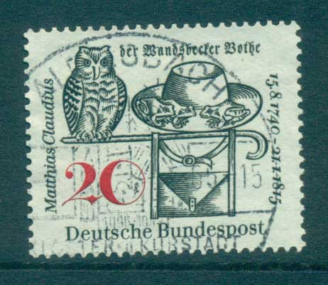 Germany 1965 Matthias Claudius FU lot59852