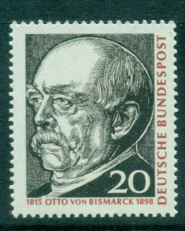 Germany 1965 Otto von Bismark MUH lot59853