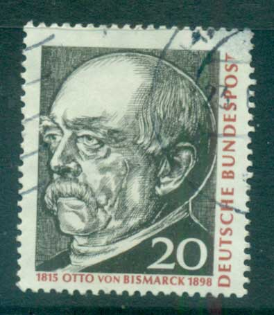 Germany 1965 Otto von Bismark FU lot59854