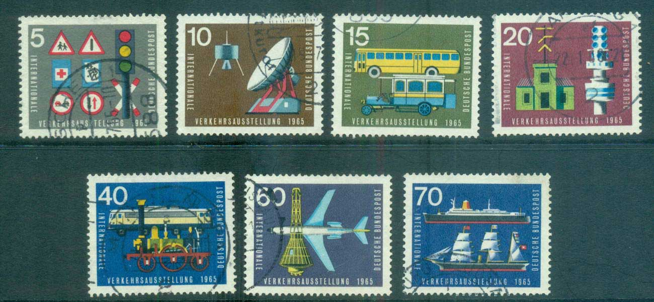 Germany 1965 Transport & Communications FU lot59856