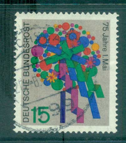 Germany 1965 May Day FU lot59858