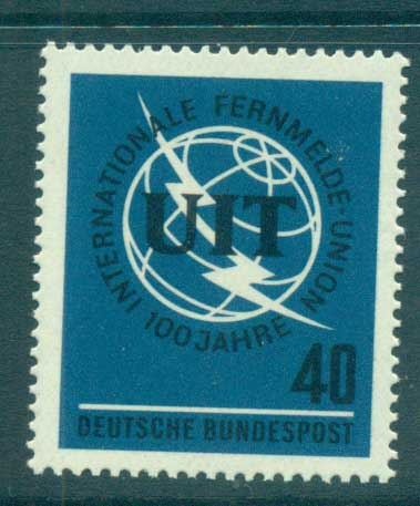 Germany 1965 ITU centenary MUH lot59859