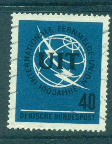 Germany 1965 ITU centenary FU lot59860