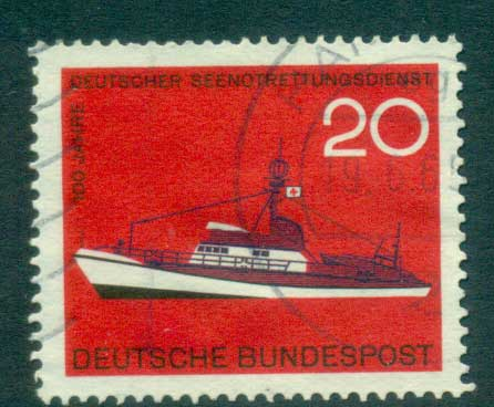 Germany 1965 Sea Rescue Service FU lot59864