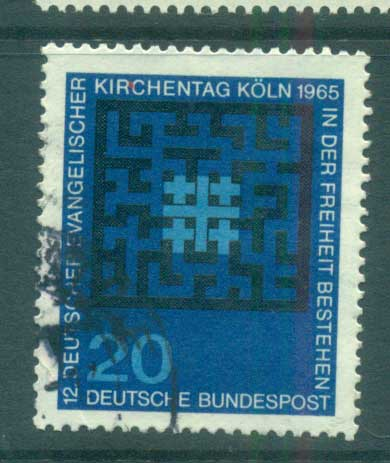 Germany 1965 German Protestants FU lot59868