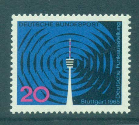 Germany 1965 Radio Exhibition MUH lot59869