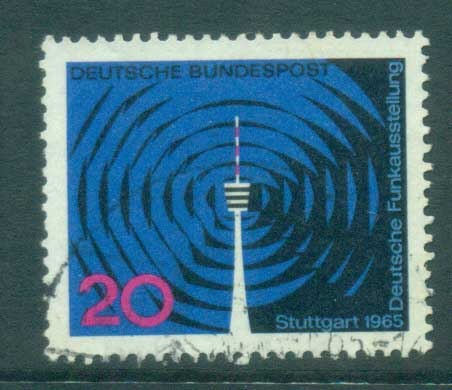 Germany 1965 Radio Exhibition FU lot59870