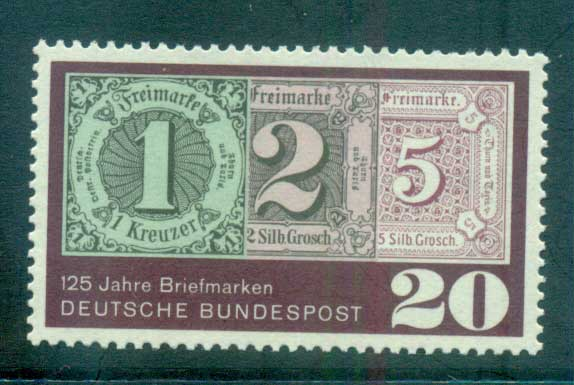 Germany 1965 GB Stamp Anniv. MUH lot59871