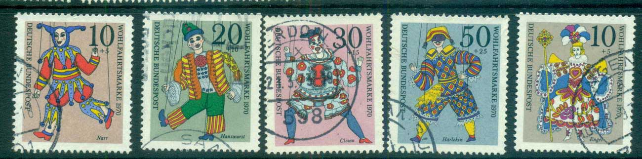Germany 1970 Welfare, Puppets FU lot59968
