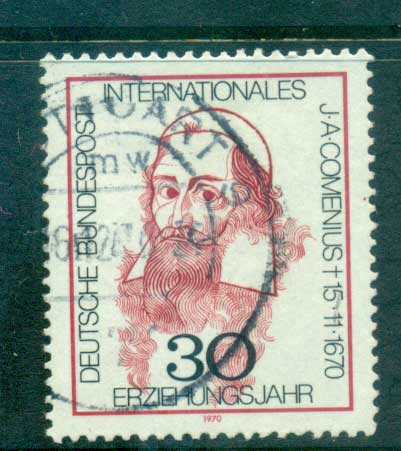 Germany 1970 Comenius FU lot60050
