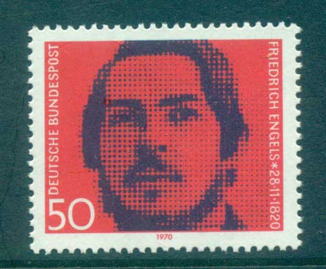 Germany 1970 Friedrich Engels MUH lot60051