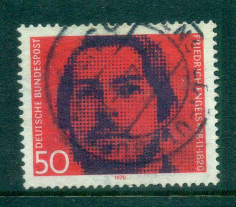 Germany 1970 Friedrich Engels FU lot60052
