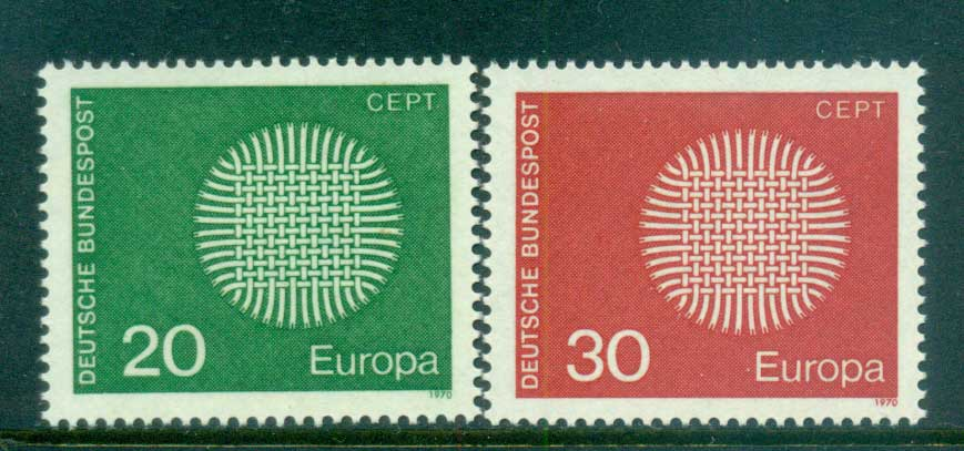 Germany 1970 Europa MUH lot60055