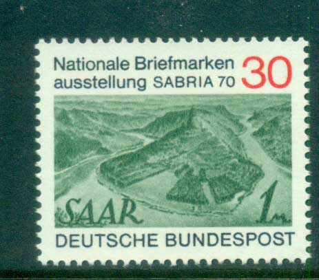 Germany 1970 SABRIA '70 MUH lot60057