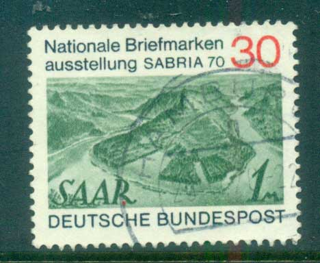 Germany 1970 SABRIA '70 FU lot60058