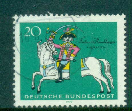 Germany 1970 Munchhausen FU lot60060