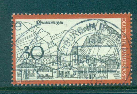 Germany 1970 Towns, Oberammagau FU lot60062
