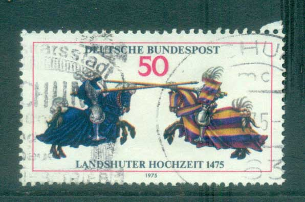 Germany 1975 Wedding of Landschut FU lot60206