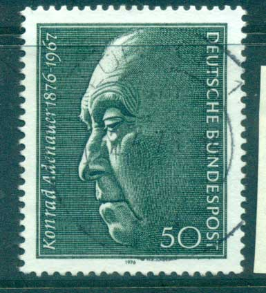 Germany 1965 Konrad Adenauer FU lot60220