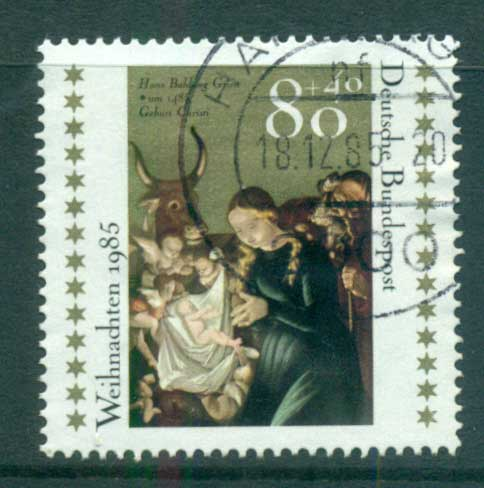 Germany 1985 Welfare, Xmas FU lot60419