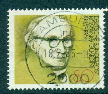 Germany 1985 Romano Guardini FU lot60708