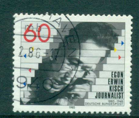 Germany 1985 Egon Erwin Kisch FU lot60718