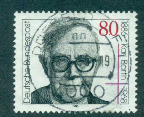 Germany 1986 Karl Barth FU lot60752