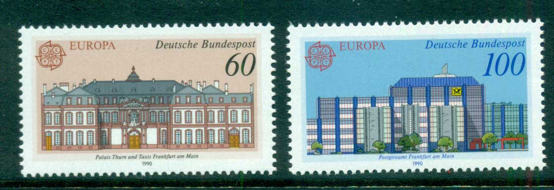 Germany 1990 Europa MUH lot60940