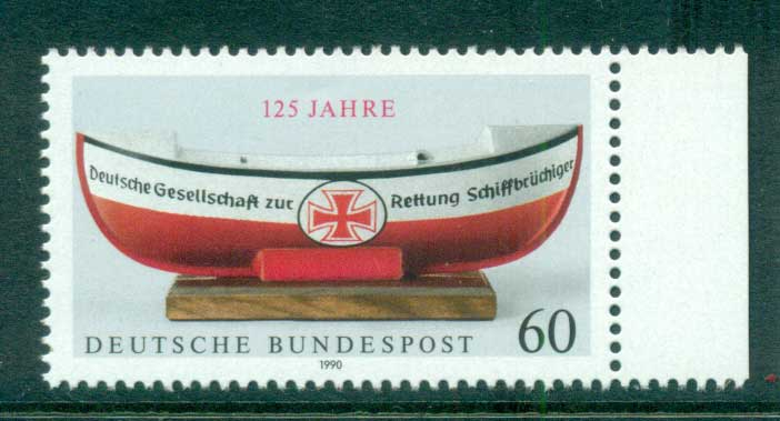 Germany 1990 Lifeboats MUH lot60949