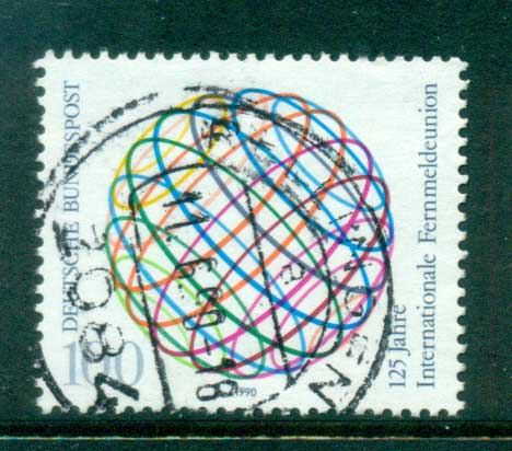 Germany 1990 telecommunication Union FU lot60952