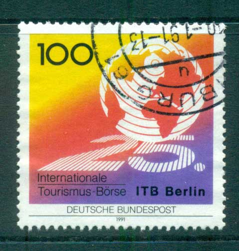 Germany 1991 Tourism Exchange FU lot60990