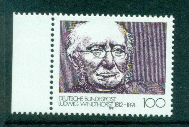 Germany 1991 Ludwig Windhorst MUH lot61007