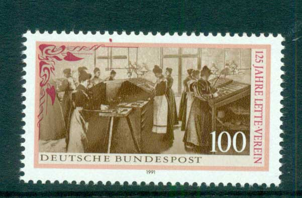 Germany 1991 Lette Foundation MUH lot61011