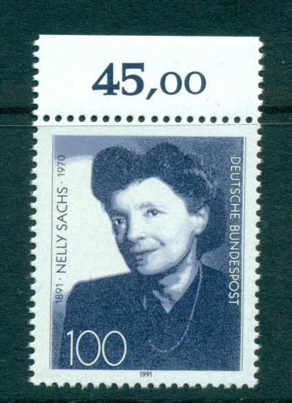 Germany 1991 Nelly Sachs MUH lot61052