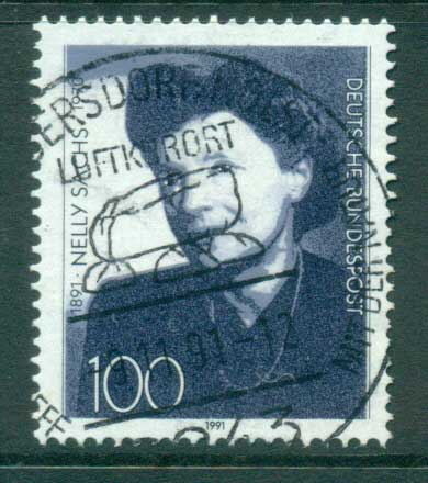 Germany 1991 Nelly Sachs FU lot61053